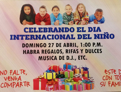 Celebración del día internacional del niño